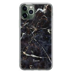 Leuke Telefoonhoesjes iPhone 11 Pro siliconen hoesje ontwerpen - Marmer mix