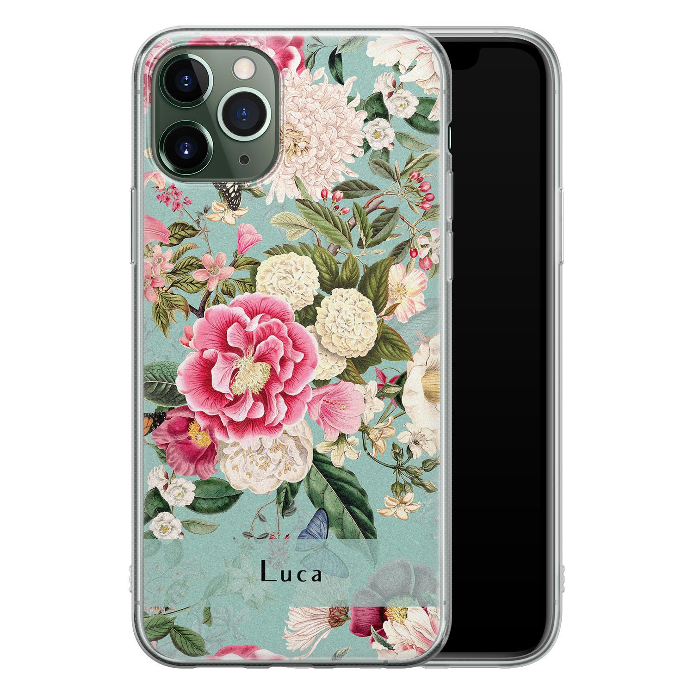 Leuke Telefoonhoesjes iPhone 11 Pro siliconen hoesje ontwerpen - Blooming