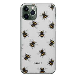 iPhone 11 Pro siliconen hoesje ontwerpen - Happy bees