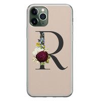 Leuke Telefoonhoesjes iPhone 11 Pro siliconen hoesje ontwerpen - Monogram