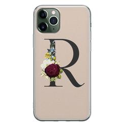 iPhone 11 Pro siliconen hoesje ontwerpen - Monogram