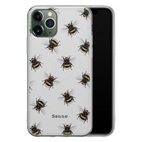Leuke Telefoonhoesjes iPhone 11 Pro siliconen hoesje ontwerpen - Happy bees