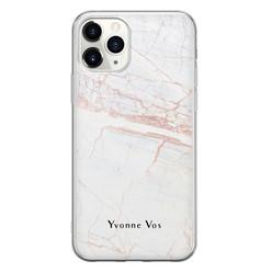iPhone 11 Pro Max siliconen hoesje ontwerpen - Stone