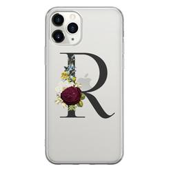 Leuke Telefoonhoesjes iPhone 11 Pro Max siliconen hoesje ontwerpen - Monogram