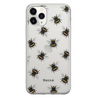 iPhone 11 Pro Max siliconen hoesje ontwerpen - Happy bees