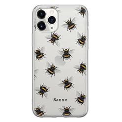 Leuke Telefoonhoesjes iPhone 11 Pro Max siliconen hoesje ontwerpen - Happy bees