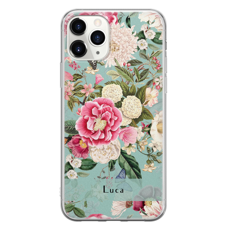 Leuke Telefoonhoesjes iPhone 11 Pro Max siliconen hoesje ontwerpen - Blooming
