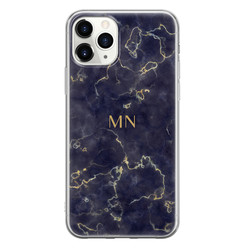 iPhone 11 Pro Max siliconen hoesje ontwerpen - Night lights