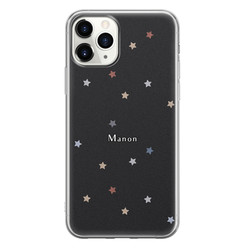 Leuke Telefoonhoesjes iPhone 11 Pro Max siliconen hoesje ontwerpen - Starry night