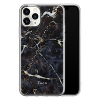 iPhone 11 Pro Max siliconen hoesje ontwerpen - Marmer mix