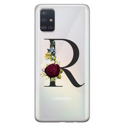 Samsung Galaxy A51 siliconen hoesje ontwerpen - Monogram
