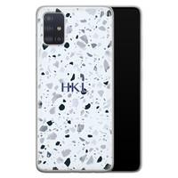 Samsung Galaxy A71 siliconen hoesje ontwerpen - Terrazzo