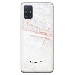 Leuke Telefoonhoesjes Samsung Galaxy A71 siliconen hoesje ontwerpen - Stone