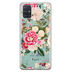 Leuke Telefoonhoesjes Samsung Galaxy A71 siliconen hoesje ontwerpen - Blooming