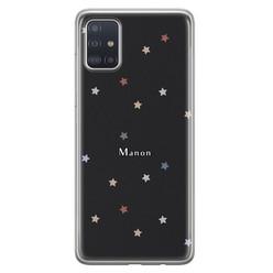 Leuke Telefoonhoesjes Samsung Galaxy A71 siliconen hoesje ontwerpen - Starry night