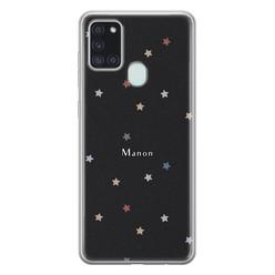 Leuke Telefoonhoesjes Samsung Galaxy A21s siliconen hoesje ontwerpen - Starry night
