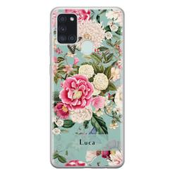 Leuke Telefoonhoesjes Samsung Galaxy A21s siliconen hoesje ontwerpen - Blooming