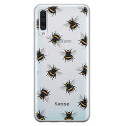 Samsung Galaxy A50/A30s siliconen hoesje ontwerpen - Happy bees
