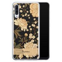 Samsung Galaxy A50/A30s siliconen hoesje ontwerpen - Golden flowers