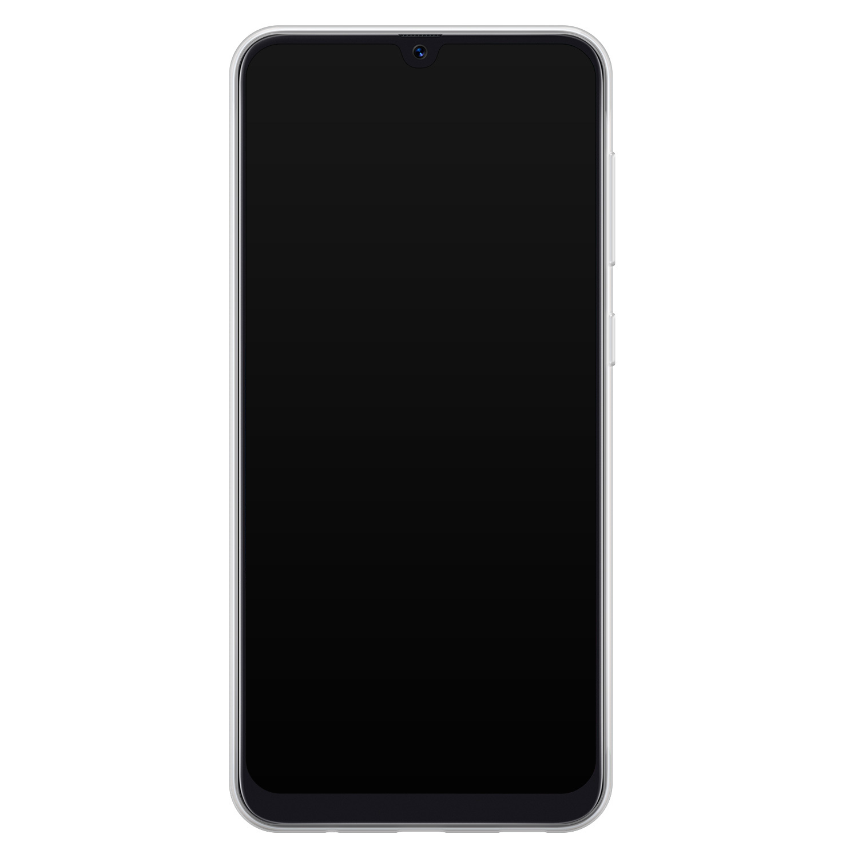 Samsung Galaxy A50/A30s siliconen hoesje ontwerpen - Blue wave