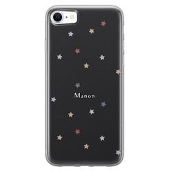 Leuke Telefoonhoesjes iPhone SE 2020 siliconen hoesje ontwerpen - Starry night