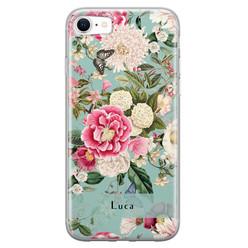 Leuke Telefoonhoesjes iPhone SE 2020 siliconen hoesje ontwerpen - Blooming