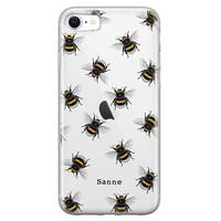 iPhone SE 2020 siliconen hoesje ontwerpen - Happy bees