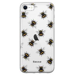 Leuke Telefoonhoesjes iPhone SE 2020 siliconen hoesje ontwerpen - Happy bees