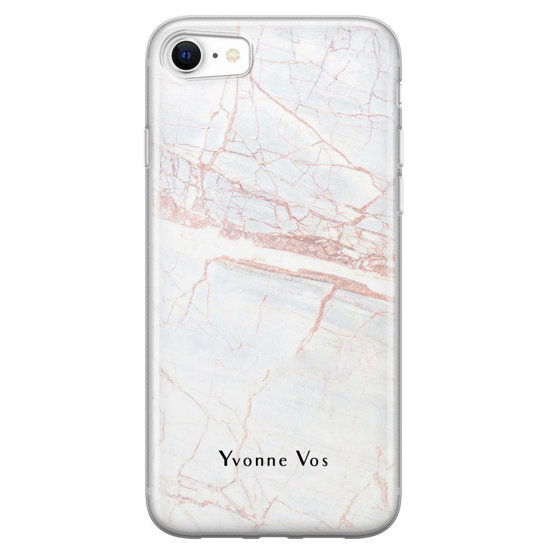 iPhone SE 2020 siliconen hoesje ontwerpen - Stone