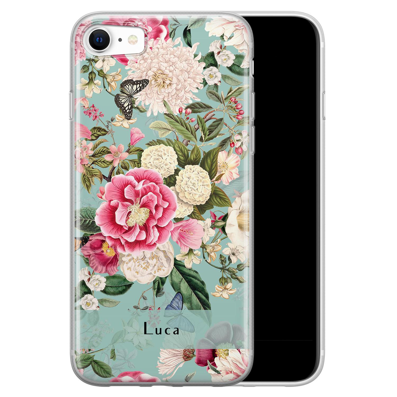 iPhone SE 2020 siliconen hoesje ontwerpen - Blooming