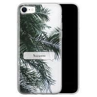 iPhone SE 2020 siliconen hoesje ontwerpen - Palmbladeren