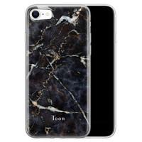 iPhone SE 2020 siliconen hoesje ontwerpen - Marmer mix