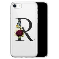 iPhone SE 2020 siliconen hoesje ontwerpen - Monogram