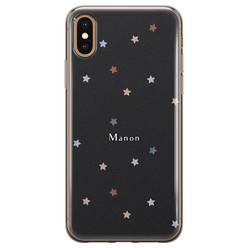 iPhone X/XS siliconen hoesje ontwerpen - Starry night