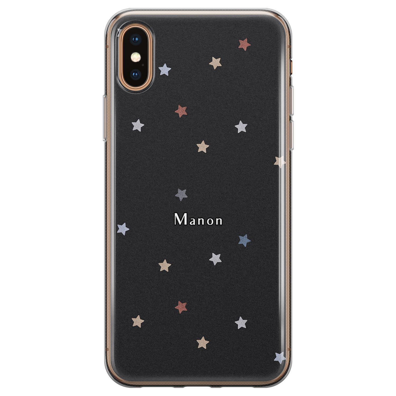 iPhone X/XS siliconen hoesje ontwerpen - Starry night