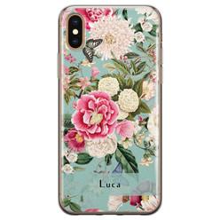 iPhone X/XS siliconen hoesje ontwerpen - Blooming