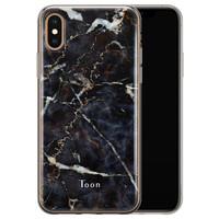 Leuke Telefoonhoesjes iPhone X/XS siliconen hoesje ontwerpen - Marmer mix