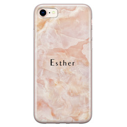 iPhone 8/7 siliconen hoesje ontwerpen - Marble sunkissed