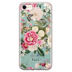 iPhone 8/7 siliconen hoesje ontwerpen - Blooming