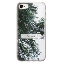 iPhone 8/7 siliconen hoesje ontwerpen - Palmbladeren