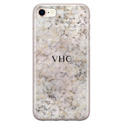 Leuke Telefoonhoesjes iPhone 8/7 siliconen hoesje ontwerpen - Marmer veins