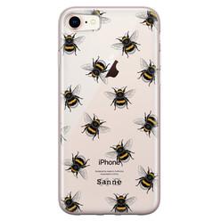 Leuke Telefoonhoesjes iPhone 8/7 siliconen hoesje ontwerpen - Happy bees