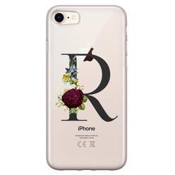 Leuke Telefoonhoesjes iPhone 8/7 siliconen hoesje ontwerpen - Monogram
