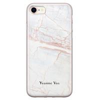 Leuke Telefoonhoesjes iPhone 8/7 siliconen hoesje ontwerpen - Stone