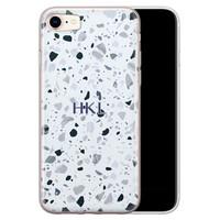 Leuke Telefoonhoesjes iPhone 8/7 siliconen hoesje ontwerpen - Terrazzo