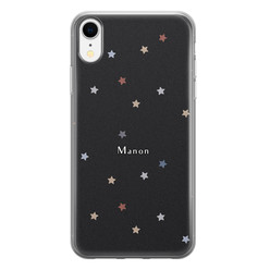 iPhone XR siliconen hoesje ontwerpen - Starry night