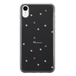 Leuke Telefoonhoesjes iPhone XR siliconen hoesje ontwerpen - Starry night