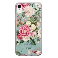 iPhone XR siliconen hoesje ontwerpen - Blooming