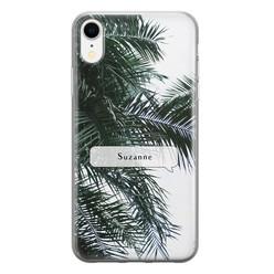 iPhone XR siliconen hoesje ontwerpen - Palmbladeren