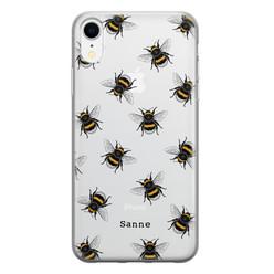 iPhone XR siliconen hoesje ontwerpen - Happy bees
